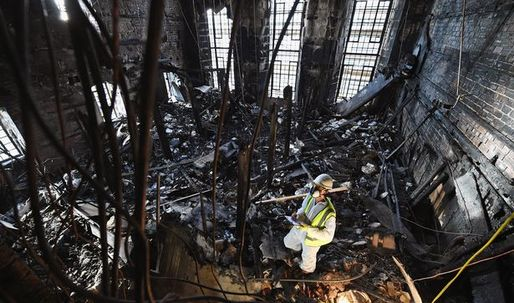Five firms shortlisted for Mackintosh Library renovation after devastating fire