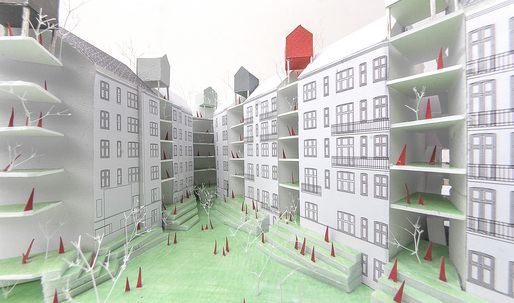 "KATOxVictoria's ""Sprouting City Blocks"" - Runner-up for Europan Denmark, Copenhagen"