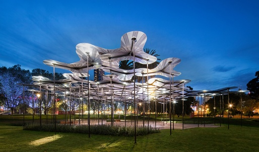 Photos (and video) of Amanda Levetes MPavilion