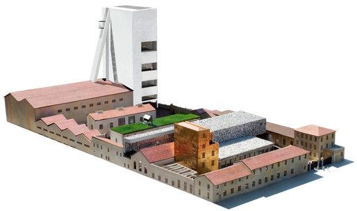 OMA's Prada Foundation Arts Complex in Milan