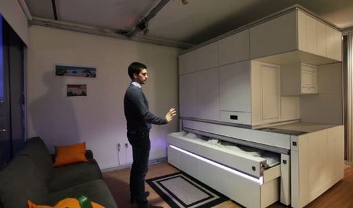MIT's Newest Invention Fits All the Furniture You Need in One Closet-Sized Box