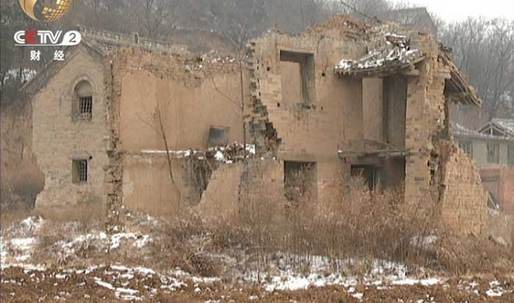 Chinese coal mining company destroys nearly every building in protected village dating back to Ming dynasty