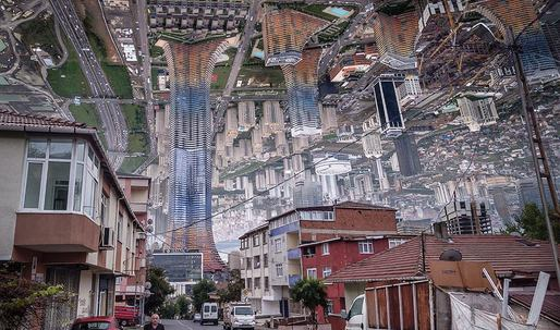 """Artist creates real-life """"Inception"""" style photography"""