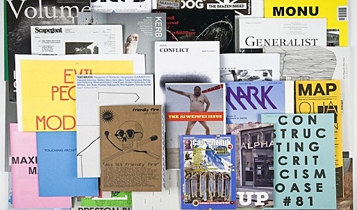 ARCHI-ZINES Exhibition to Launch Nov. 5 / Archinect is Represented (twice)!
