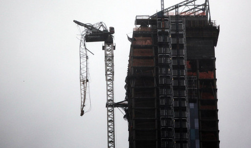 Manhattan Construction Crane Collapses at One57 Luxury Tower