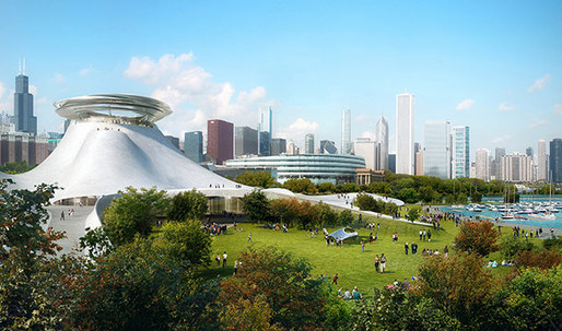 How the Lucas Museum Design Will Change Chicagos Lakefront - Rendering Reveals