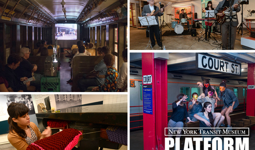 Share your creative commute proposals to NY Transit Museums PLATFORM 2015