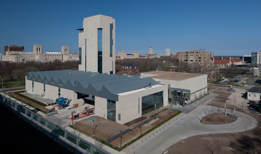 Tod Williams and Billie Tsien's new UChicago Arts Center opens this weekend