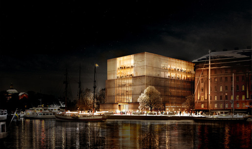Sweden's king voices disapproval of Chipperfield's Nobel Center design