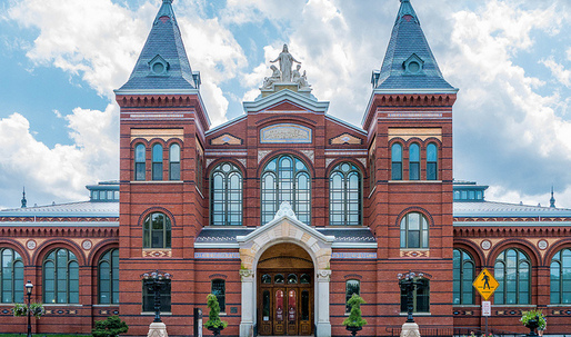 "The ""unfinished charm"" of the Smithsonian's Arts and Industries Building"