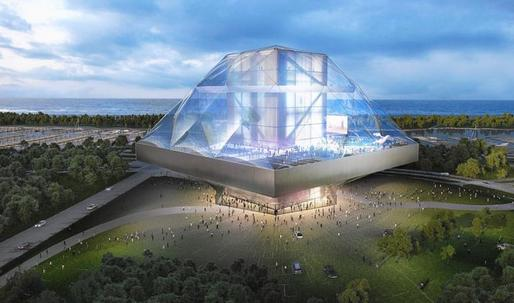 OMAs glass mushroom: the Lucas Museum that could have been