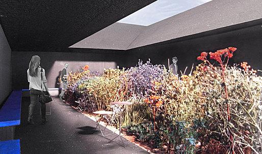 A garden within a garden