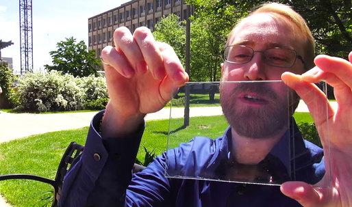 Michigan State University researchers develop completely transparent solar panels
