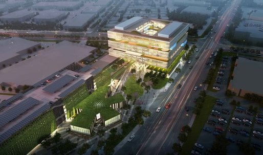 NBBJ to design embedded outdoor spaces for Samsung's Silcon Valley facility