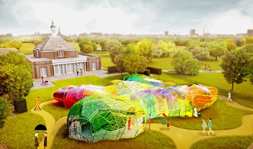 SelgasCano unveils designs for the 2015 Serpentine Pavilion
