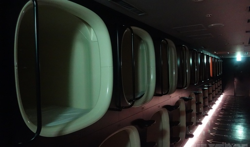 Nine hours in a capsule: sleeping in a sci-fi hotel that wants you to leave