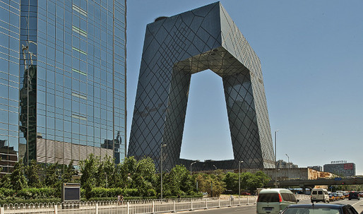 Koolhaas rewrites script with blockbuster buildings