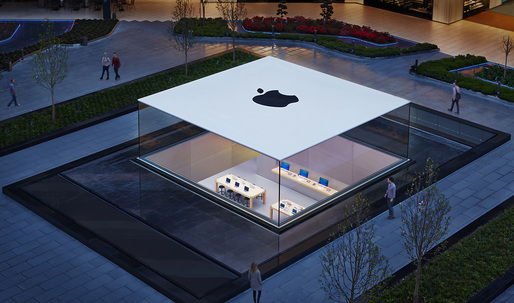 The Glass Lantern at Apple Store Istanbul wins top prize in Structural Awards 2014