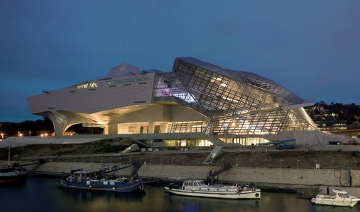 The NYT takes a closer look at Coop Himmelb(l)aus new Confluence Museum in Lyon