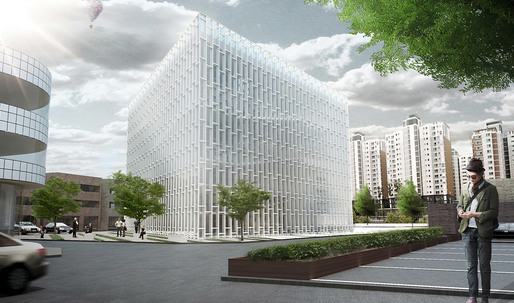 Daegu Gosan Public Library - 2nd Place Entry by studio SH