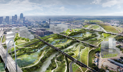 MVVA-designed Dallas Trinity River Park to become Americas largest urban nature park