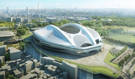 Zaha Hadid: My design for the New National Stadium is not the problem