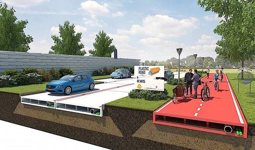 Rotterdam considers paving its roads with recycled plastic