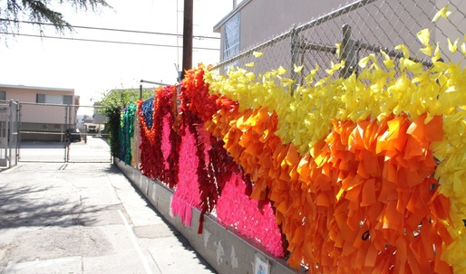 """""""On the Fence"""": A colorful collaboration at Citizens of the World Hollywood"""