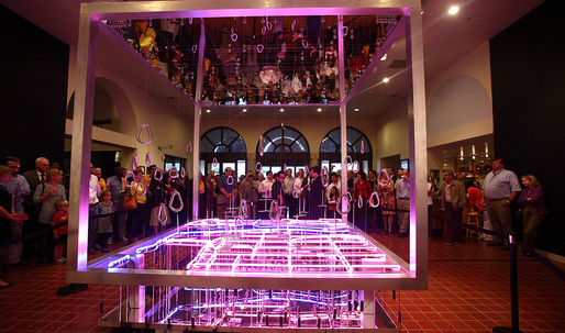 DawnTown Design/Build Competition Winner on View in Miami