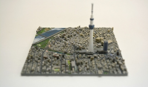 Help fund this Kickstarter for 3D printed maps of Tokyo