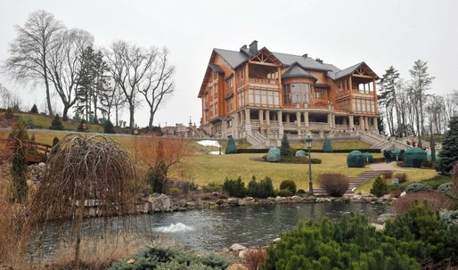 A Peek Inside Yanukovych's Luxury Villa