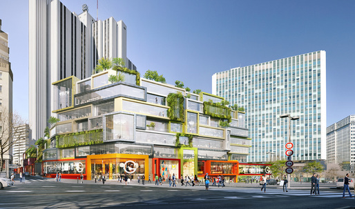 MVRDV approved to redesign the 70s Vandamme Nord block in Montparnasse, Paris