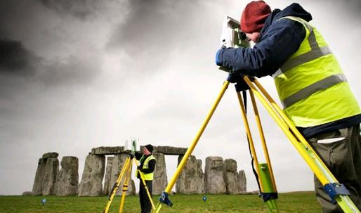Laser scan uncovers secrets of Stonehenge