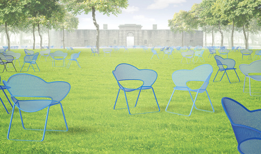 The top five finalists for The Battery Conservancy's Draw Up A Chair competition