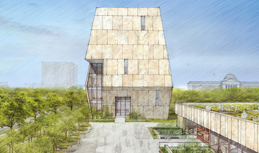 Take a look at the first images of the design for the Obama Presidential Center by TWBTA