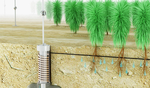 AirDrop Irrigation Wins First Prize at 2011 James Dyson Awards