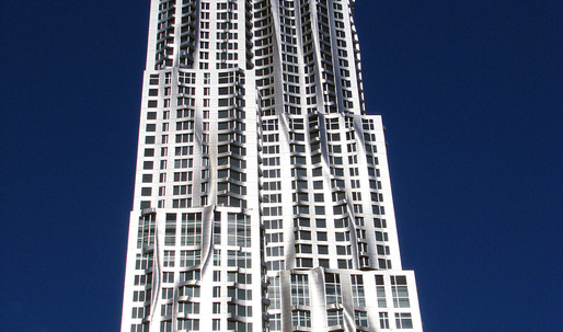 Gehry's 8 Spruce Street Wins Emporis Skyscraper Award