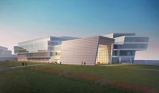 Goettsch Partners' New Music Building for Northwestern University to Break Ground in May