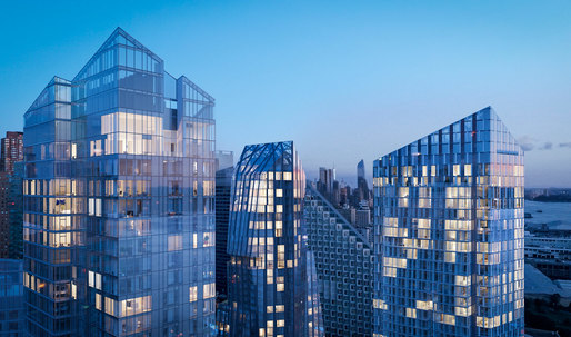 With New York's Waterline Square, three architects are better than one