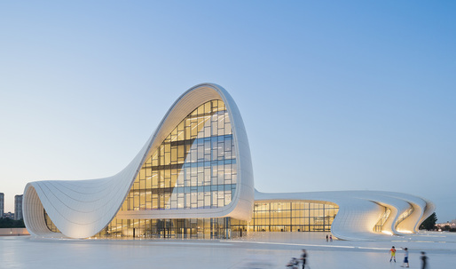 Zaha Hadid wins the Design Museum's Designs of the Year Award 2014