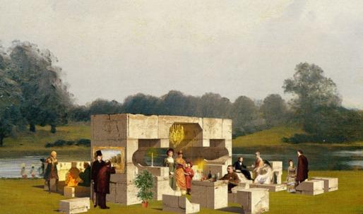 Construction of Serpentine Pavilions begins