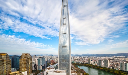 Seoul's Lotte World Tower now the 5th tallest tower in the world