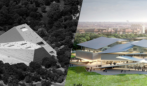 Budapest National Gallery/Ludwig Museum competition: Snøhetta and SANAA tied for 1st prize