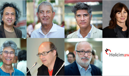 Jury members of the 2015 Holcim Awards are announced