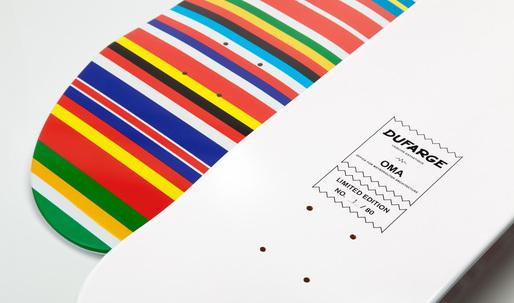 Skate this: Limited edition Rem Koolhaas Flag Deck