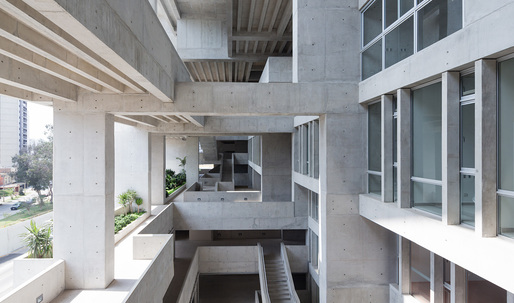 "Grafton Architects' UTEC ""vertical campus"" wins inaugural RIBA International Prize"