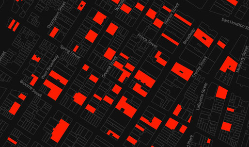 VACANT NEW YORK maps Manhattans shuttered storefronts