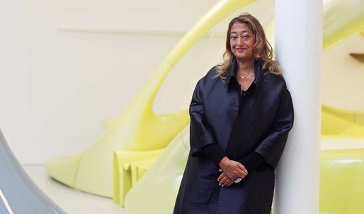 "The Financial Times calls Zaha an ""Unlikely 'pushover' who doesn't play safe"""