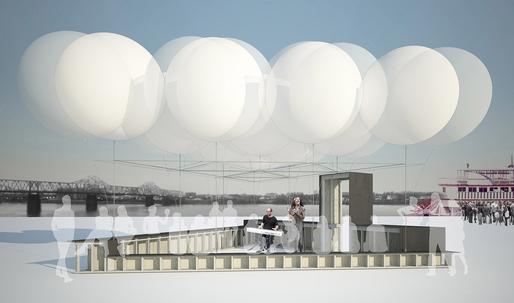 DRIFT wins Pavilions Design Competition