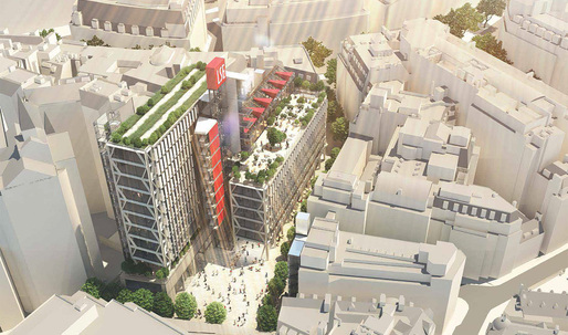 Rogers Stirk Harbour + Partners wins LSE Global Centre for Social Sciences competition